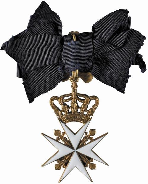 """Позвольте несколько бестактный вопрос: А за что  """"Мальтийский крест """"?"""